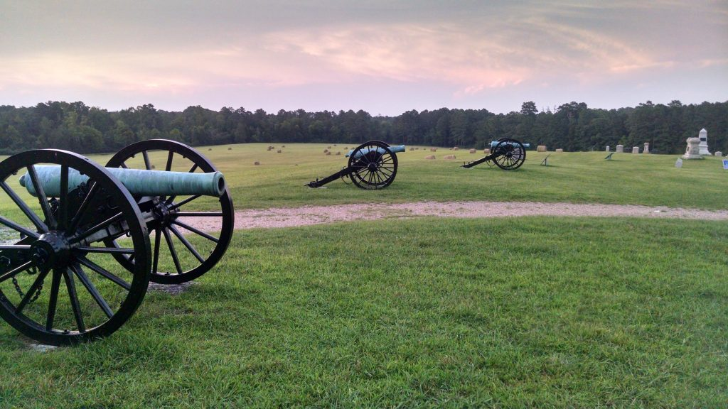 Brice's Cross Roads National Battlefield.