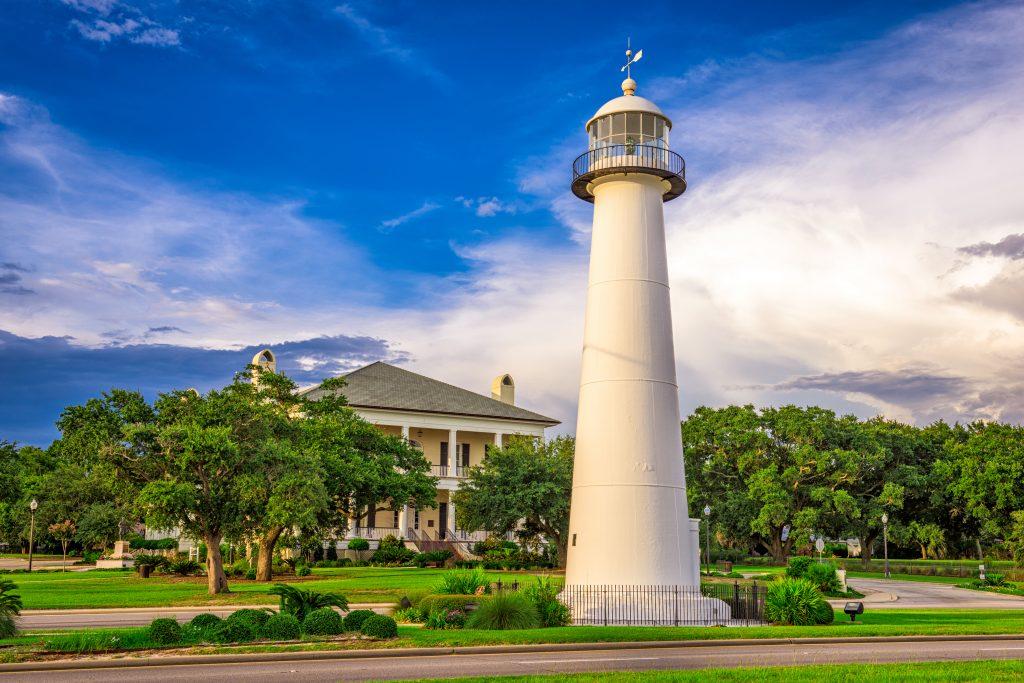 Lighthouse Biloxi, Mississippi.