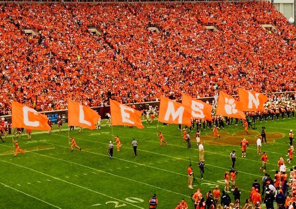 Clemson University Stadium.