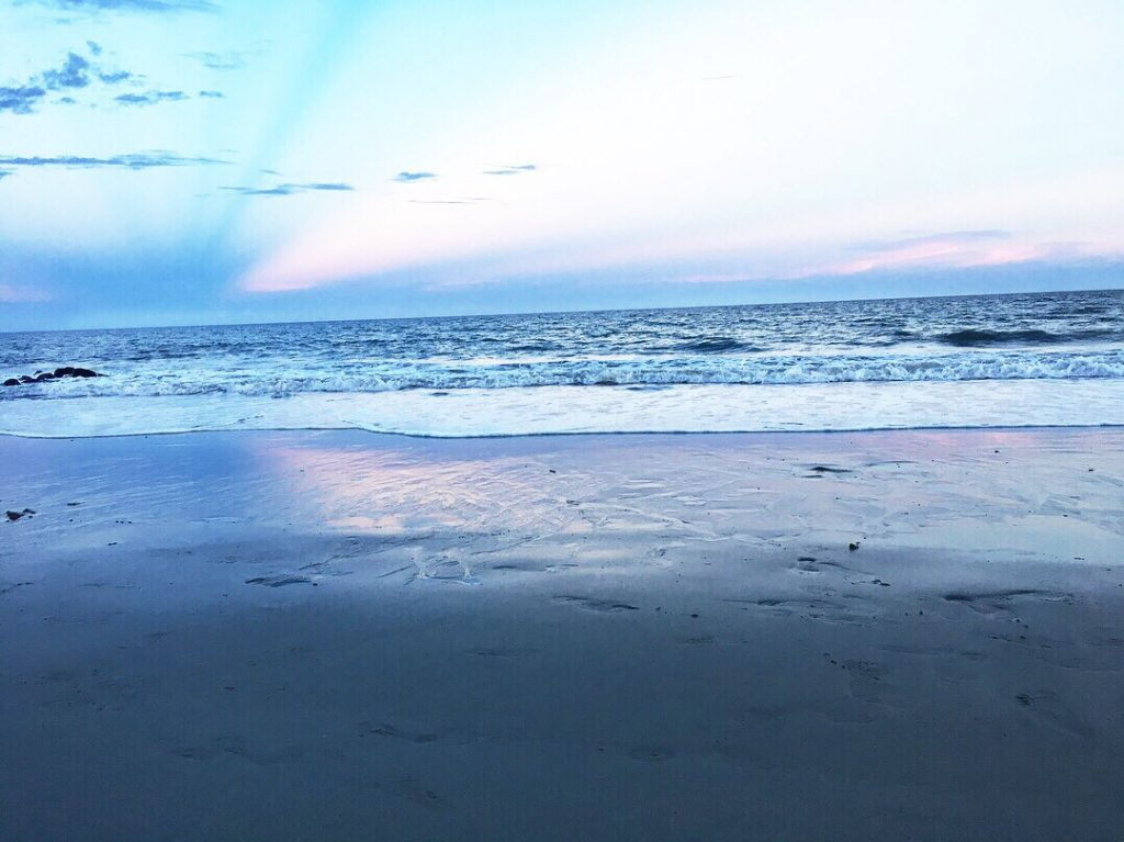 The beach at Edisto Island.
