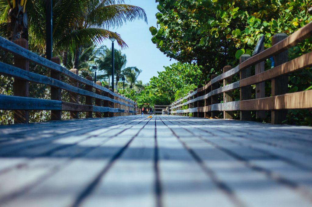 Deerfield Beach Boardwalk.
