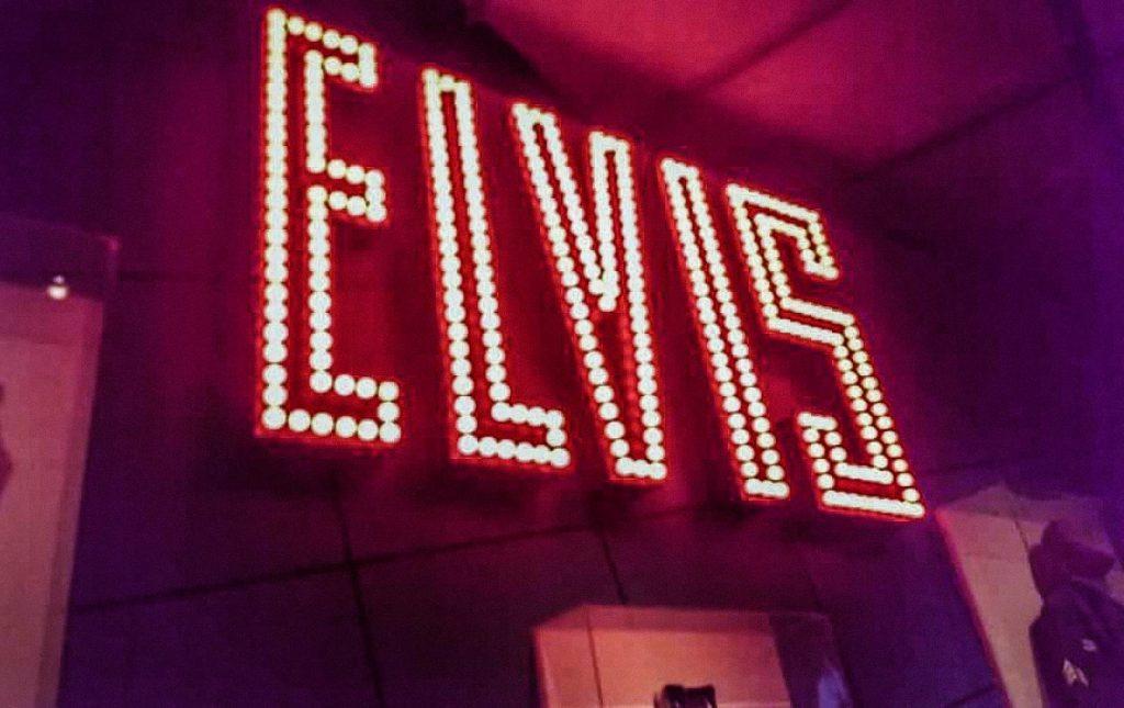 Elvis Presley memorial in Tupelo, Mississippi.