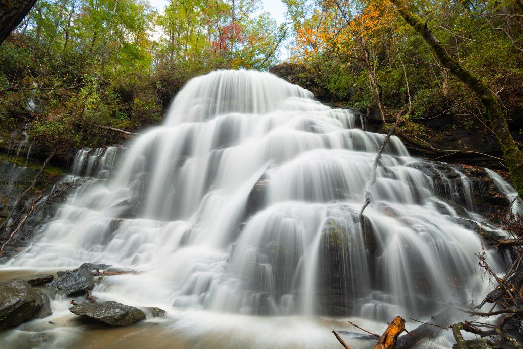 Waterfall in Walhalla.