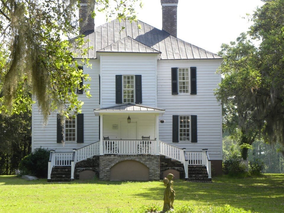 Hopsewee Plantation from the side